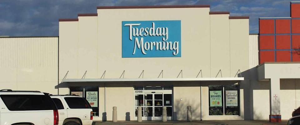 Wichita Falls, TX - February 7, 2020: Tuesday Morning Home Decor Store