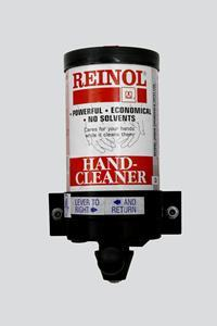 Here is Reinol's soap dispenser, which provides users with the exact amount of soap needed to clean their hands. Consumers can purchase Reinol Original Hand Cleaner on Amazon and Walmart.com.