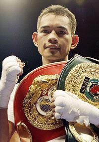 HBO will broadcast a super flyweight bout between Nonito Donaire Jr. (above) and Fernando Montiel early next year