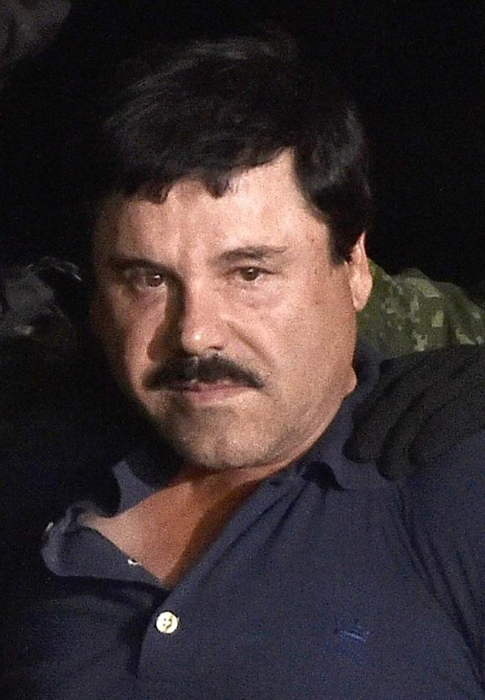Joaquin Guzman now faces the prospect of being extradited to the United States (AFP Photo/OMAR TORRES)