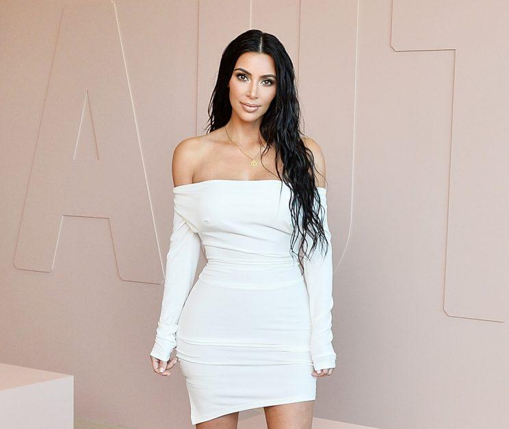 Kim Kardashian West celebrates The Launch Of KKW Beauty on June 20, 2017 in Los Angeles, California. (Photo: Getty Images)