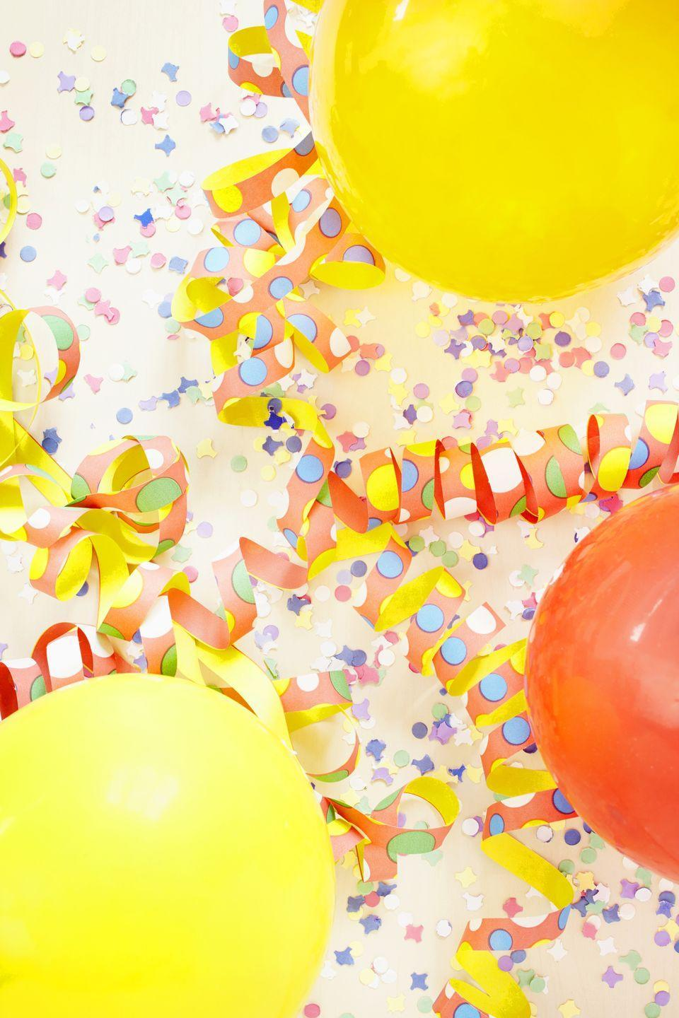 """<p>Grocery stores are known for selling food, not balloons — and there's a reason for that. Though many grocers do offer a range of party supplies, they're often pretty expensive. According to Cheat Sheet, <a href=""""https://www.cheatsheet.com/money-career/things-you-should-never-buy-at-the-grocery-store.html/"""" rel=""""nofollow noopener"""" target=""""_blank"""" data-ylk=""""slk:cheaper varieties can be found at discount party stores or online."""" class=""""link rapid-noclick-resp"""">cheaper varieties can be found at discount party stores or online. </a></p>"""