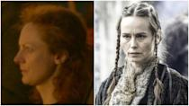 "<p>Just here to talk about another <em>GOT </em>recasting.. This time, the victim is Sarah MacKeever, who was a ""stand-in"" for the role of Selyse in season 2 before Tara Fitzgerald took over. Is anyone else deeply bothered by how little these women look alike? </p>"