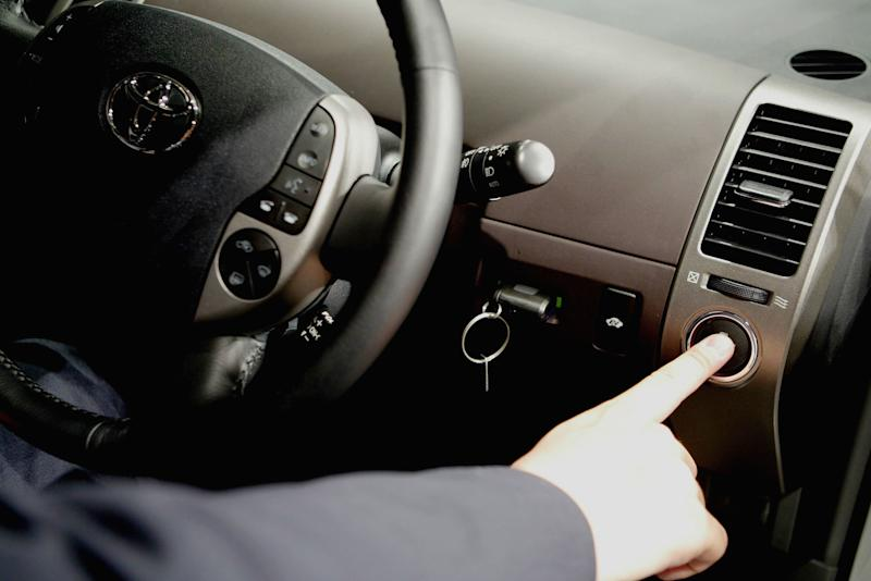 Keyless car ignitions have led to dozens of fatal carbon monoxide poisonings over the years, a New York Times report has found. (Koichi Kamoshida via Getty Images)