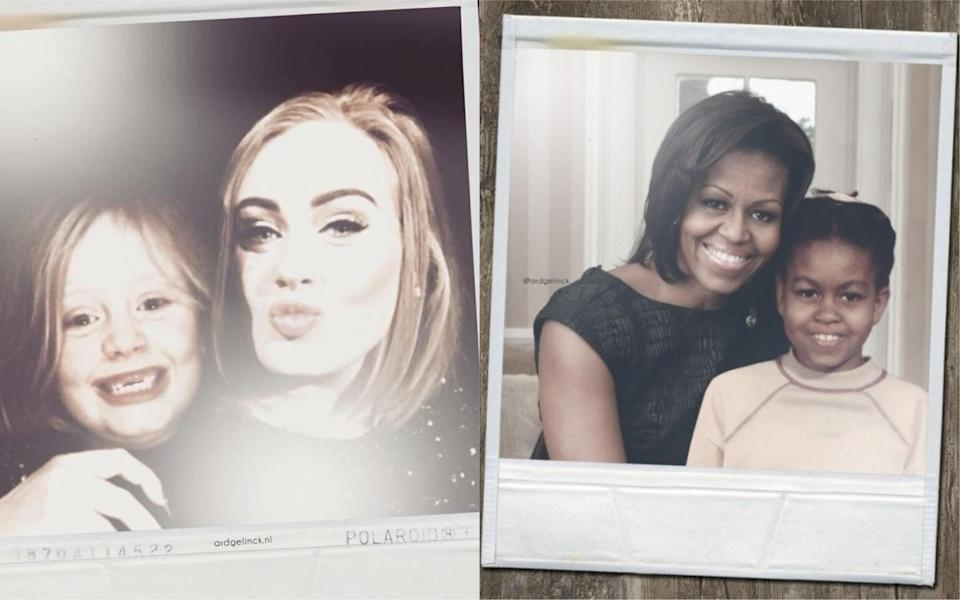 From Adele to Michlle Obama, which celebrity throwback photograph is your favourite? [Photo: Ard Gelinck]