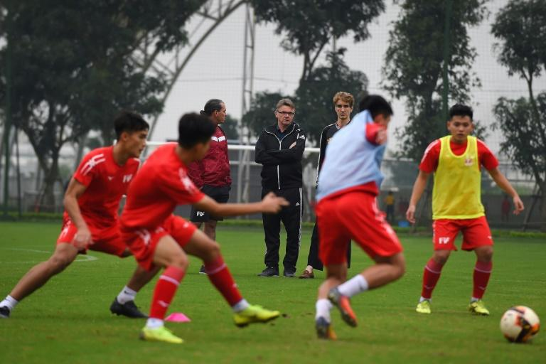 A well-equipped, well-staffed football academy as at the centre of Vietnam's strategy