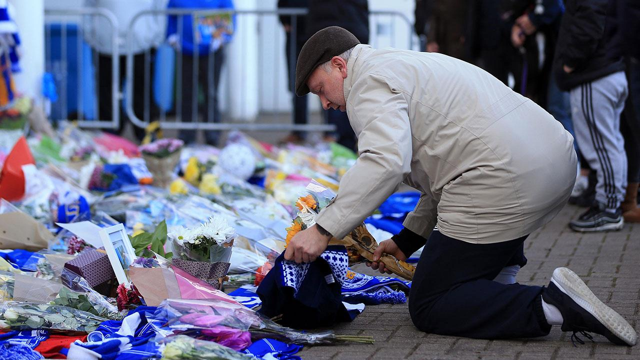 Fans have been paying tribute to those who were killed in the crash. Pic: Getty