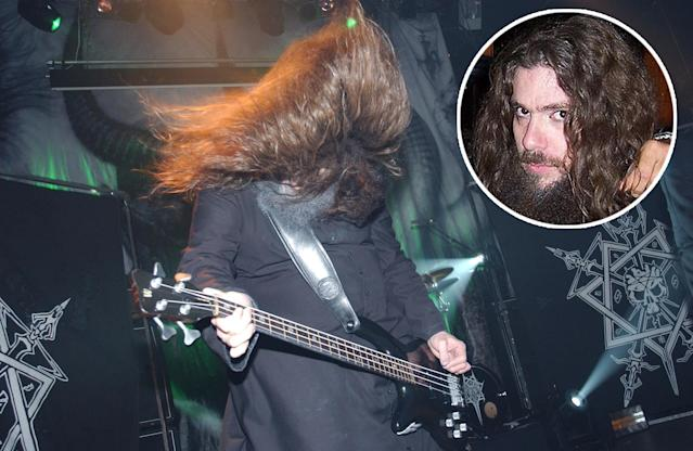 <p>Martin Eric Ain was best known for being a bassist for the influential extreme metal band Celtic Frost. He died Oct. 21 following a heart attack. He was 50.<br>(Photo: Getty Images/Wikimedia) </p>
