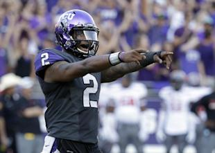 Trevone Boykin and TCU posted 82 points against Texas Tech on Saturday. (AP)