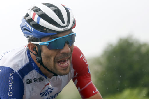 Pinot strikes again in Pyrenees, Alaphilippe stalls