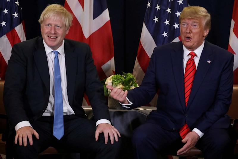 Trump comes to the UK this week (REUTERS)