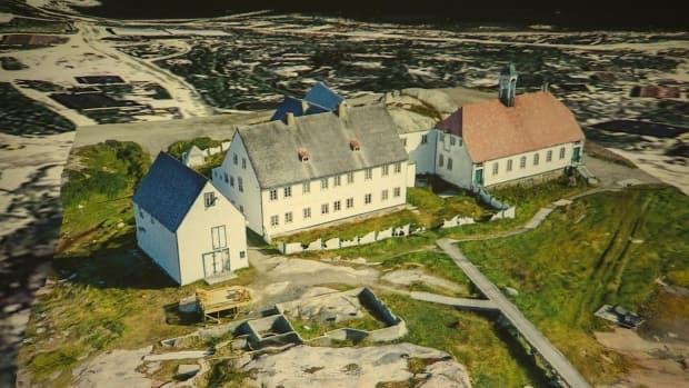Hopedale Mission Buildings by Eldred Allen.