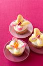 """<p>Famed for her cake pops, <a href=""""http://www.bakerella.com/"""" rel=""""nofollow noopener"""" target=""""_blank"""" data-ylk=""""slk:Bakerella"""" class=""""link rapid-noclick-resp"""">Bakerella</a> (a.k.a. Angie Dudley) whipped up these cheery cupcakes as a special treat for <em>Woman's Day</em>. They're full of lemony flavor and only require simple baking and kitchen tools.</p><p><a href=""""https://www.womansday.com/food-recipes/food-drinks/recipes/a11266/lemon-butterfly-cakes-recipe/"""" rel=""""nofollow noopener"""" target=""""_blank"""" data-ylk=""""slk:Get the recipe."""" class=""""link rapid-noclick-resp""""><strong>Get the recipe.</strong></a></p>"""