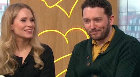 Jon Richardson's wife teased that he'd recently eaten a halloumi burger. (Channel 4)