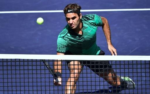 Roger Federer triomphe à Indian Wells