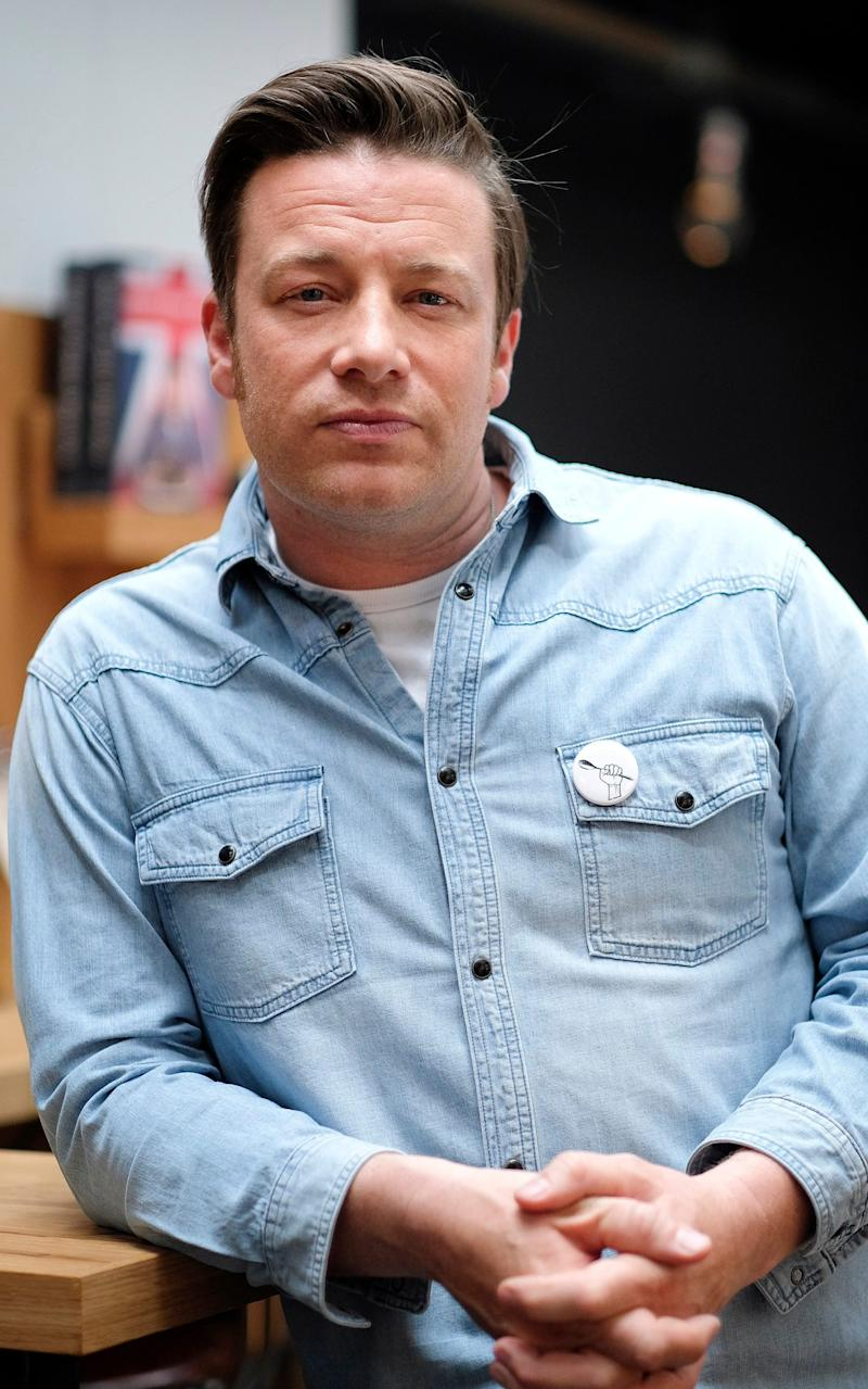 Jamie Oliver - Credit: Christopher Pledger