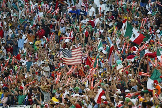 The Mexican national team already has a massive fan base in the United States. With North America all to itself during the 2018 World Cup, it is trying to grow that base. (Getty)