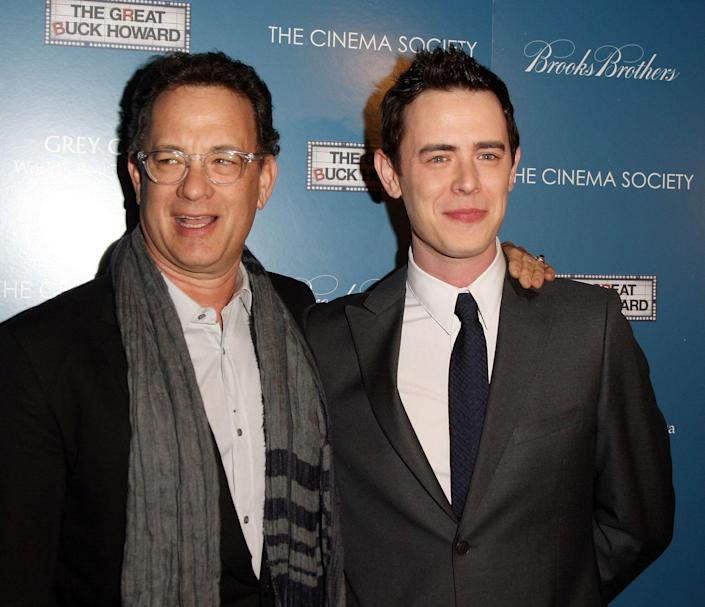 """<p><strong>Famous parent(s)</strong>: actor Tom Hanks <br><strong>What it was like</strong>: You'd think having Tom Hanks as a dad would mean acting advice for days, right? Not for Colin Hanks. """"I don't have the time to write that email, and he doesn't have the time to respond,"""" Colin has <a href=""""http://www.huffingtonpost.com/2014/08/04/colin-hanks-dad-tom-hanks_n_5649047.html"""" rel=""""nofollow noopener"""" target=""""_blank"""" data-ylk=""""slk:said"""" class=""""link rapid-noclick-resp"""">said</a>. """"When we see each other, we like to talk about other things.""""</p>"""