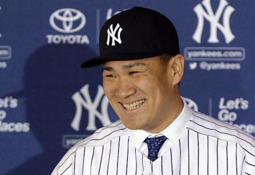 Yankees RHP Tanaka has first workout in Florida