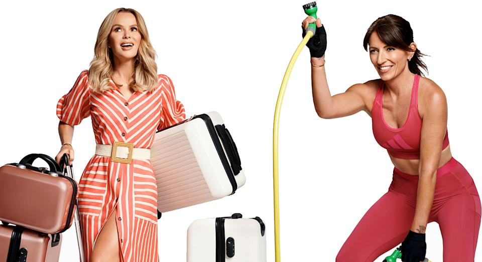 Amanda Holden and Davina McCall collaborate with JD Williams on their very own edits, which you won't want to miss.  (JD Williams/ Yahoo Style UK)