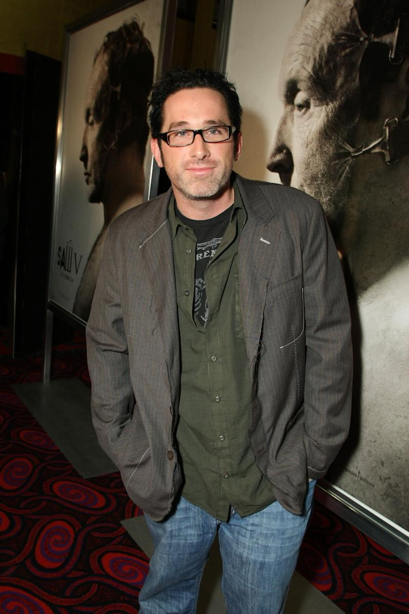 LOS ANGELES, CA - OCTOBER 21: Darren Lynn Bousman at Lionsgate's Special Screening of 'Saw V' on October 21, 2008 at the Mann's Chinese Six in Los Angeles, CA. (Photo by Eric Charbonneau/Invision/AP Images)