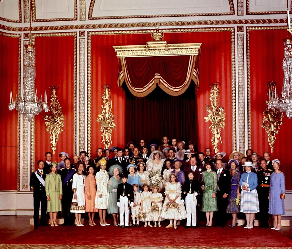 <p>Remember cramming into your high school club photo? This was a lot like that, except instead of a bunch of ultimate frisbee kids, it's a giant group of all of Europe's royal families. Casual.</p>