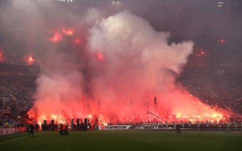 flares in the gtround - Credit: GETTY IMAGES