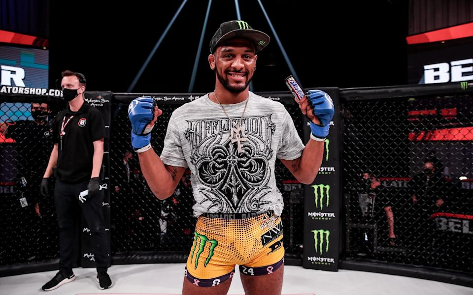 Rising Bellator star AJ McKee is becoming one of the wunderkinds of the MMA world - Lucas Noonan/Bellator