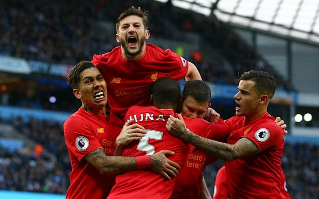 Liverpool have a far superior record against the top half of the table than the bottom half - Copyright 2017 The Associated Press. All rights reserved.