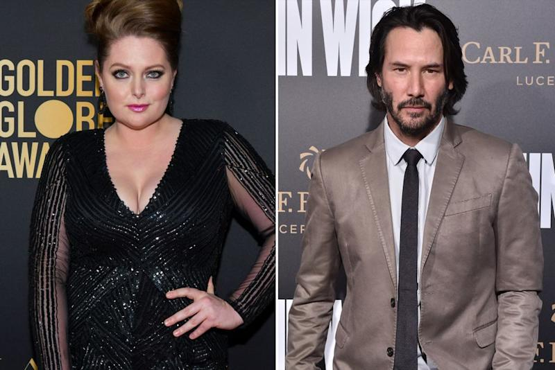 Lauren Ash, Keanu Reeves | Rodin Eckenroth/Getty Images, Axelle/Bauer-Griffin/FilmMagic