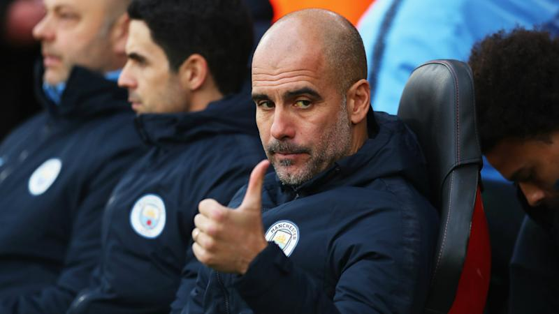 Pep Guardiola Southampton vs Manchester City Premier League 2018-19