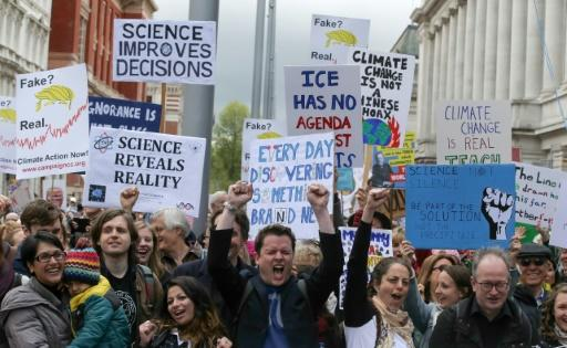 """March for Science"" in London"