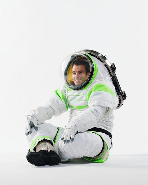 The Z-1 spacesuit will potentially be used to explore different planets.
