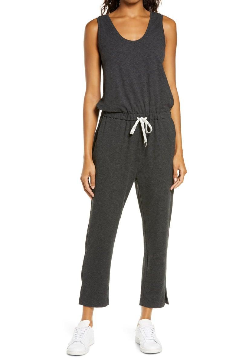 <p>This <span>Zella Gwen Sleeveless Knit Romper</span> ($75) is great for running errands or lounging around the house.</p>