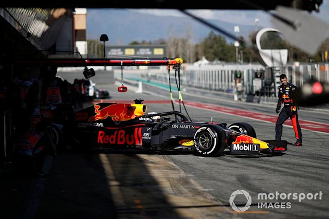 "Max Verstappen, Red Bull Racing RB16 <span class=""copyright"">Zak Mauger / Motorsport Images</span>"