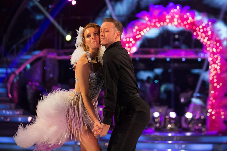 Stacey Dooley and Kevin Clifton (Credit: BBC)