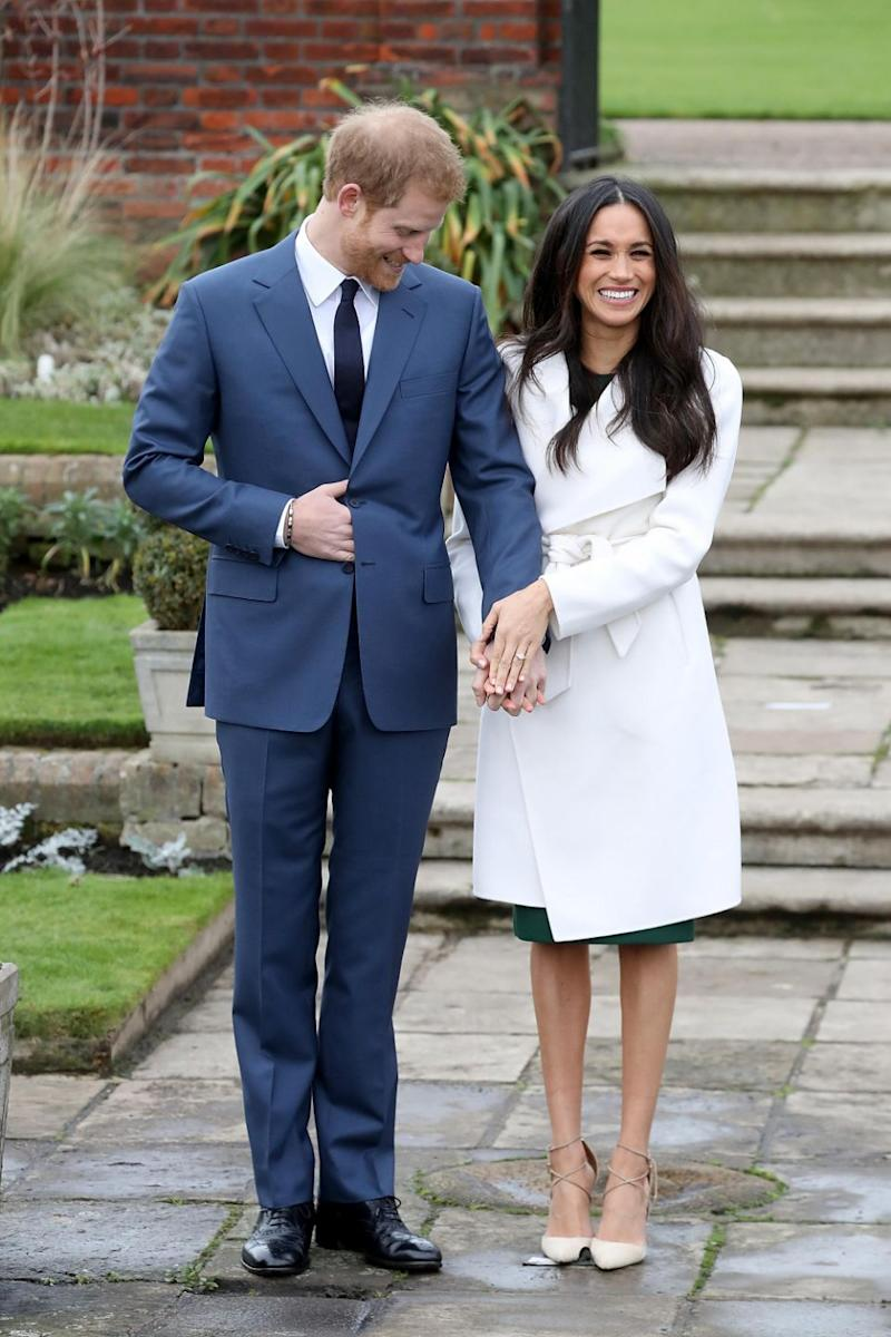 Harry and Meghan's real life wedding will take place in May. Photo: Getty