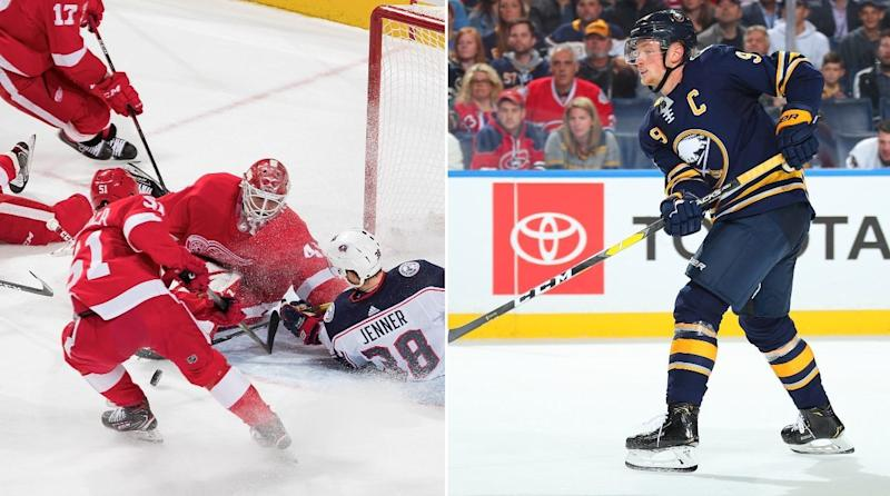 Stunning NHL Numbers: Red Wings struggles; Eichel's point streak