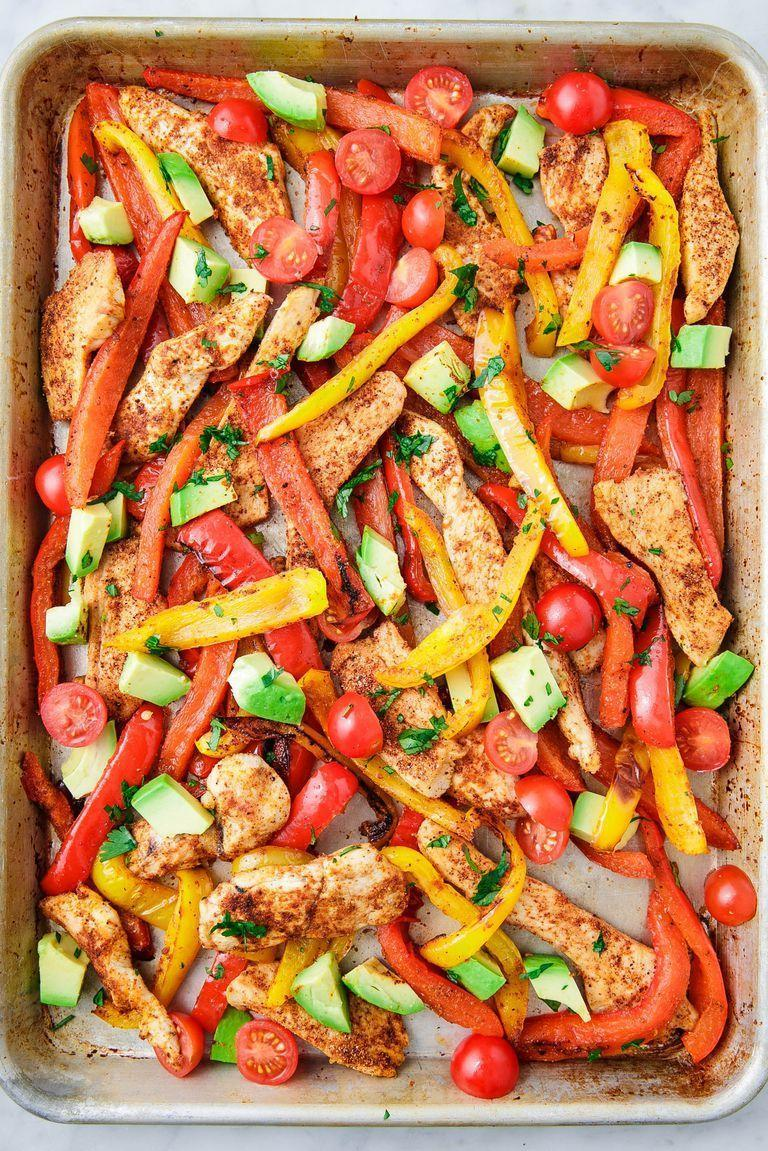 "<p>Making a whole recipe on one sheet pan is perfect for meal prepping. For these fajitas you simply toss all of the ingredients together and call it a day.</p><p>Get the recipe from <a href=""https://www.delish.com/cooking/recipe-ideas/a25564755/sheet-pan-chicken-fajitas-recipe/"" rel=""nofollow noopener"" target=""_blank"" data-ylk=""slk:Delish"" class=""link rapid-noclick-resp"">Delish</a>.</p>"