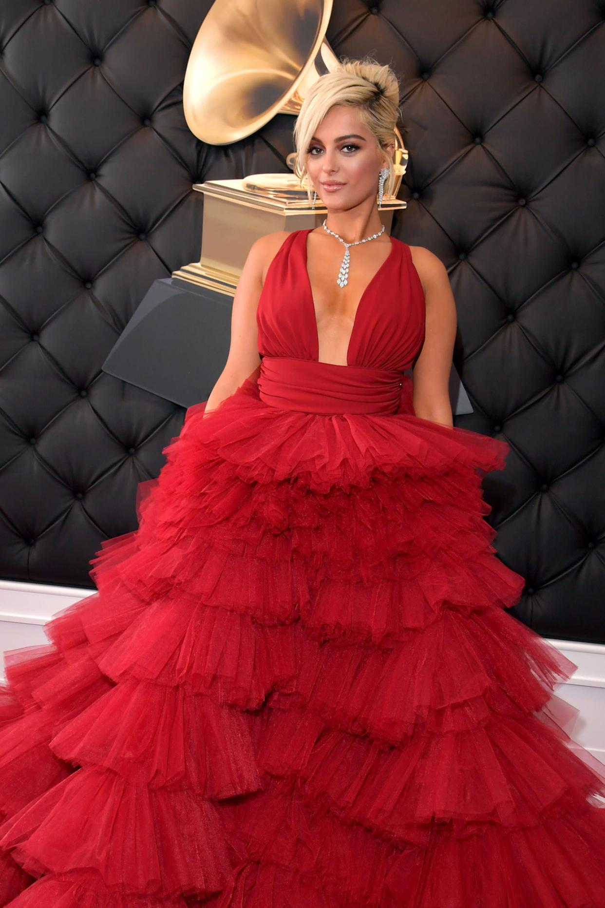 """""""I feel like a princess,"""" BebeRexha said.""""I wanted to go for that vibe."""" (Photo: Lester Cohen via Getty Images)"""
