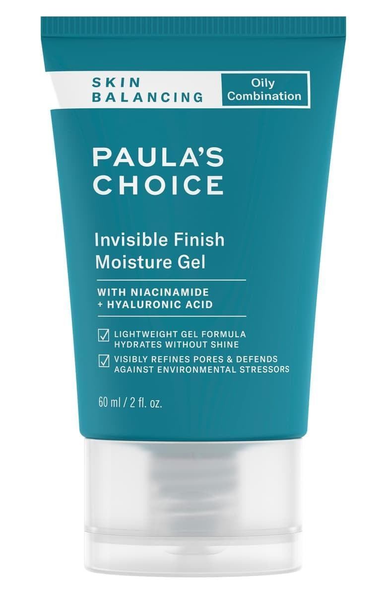 <p>Slick on the light-as-air <span>Paula's Choice Skin Balancing Invisible Finish Moisture Gel</span> ($29), and watch your pores shrink in size. This gel-like formula feels light on skin but is loaded with antioxidants and niacinamide, which actually improve texture over time.</p>