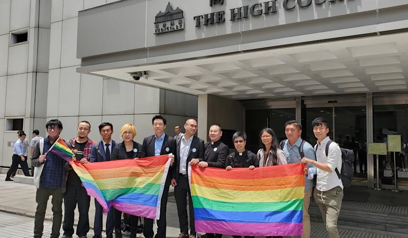 Judge in LGBT civil union legal challenge rejects bid by Hong Kong Catholic diocese and conservative groups to join litigation
