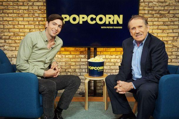 PHOTO: Nicholas Braun appears on 'Popcorn with Peter Travers' at ABC News studios, Aug. 22, 2019, in New York. (Angela Williams/ABC News)
