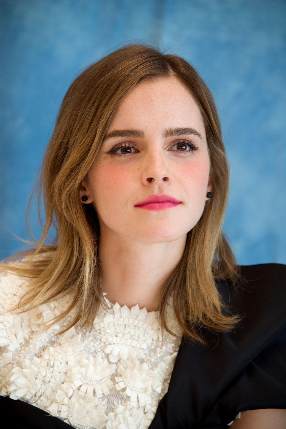 <p>Emma can easily pull off any style, but this cut just past her shoulders is sooo her. </p>