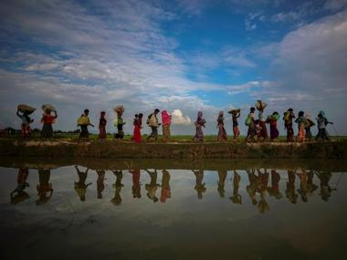 Sixteen dead after boat with 125 Rohingya refugees from Bangladeshi camps capsizes in Bay of Bengal; overcrowding led to accident, says Cox's Bazar police