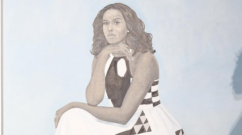 Little Girl Awestruck By Michelle Obama's Portrait Goes Viral For The Best Reasons