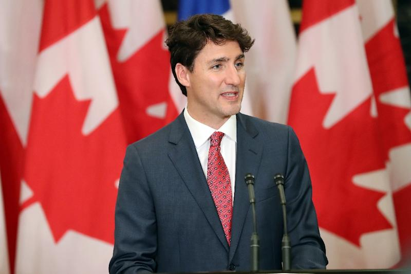 Prime Minister Justin Trudeau says Canadian troops training Kurdish fighters have orders to fight in defense of coalition soldiers