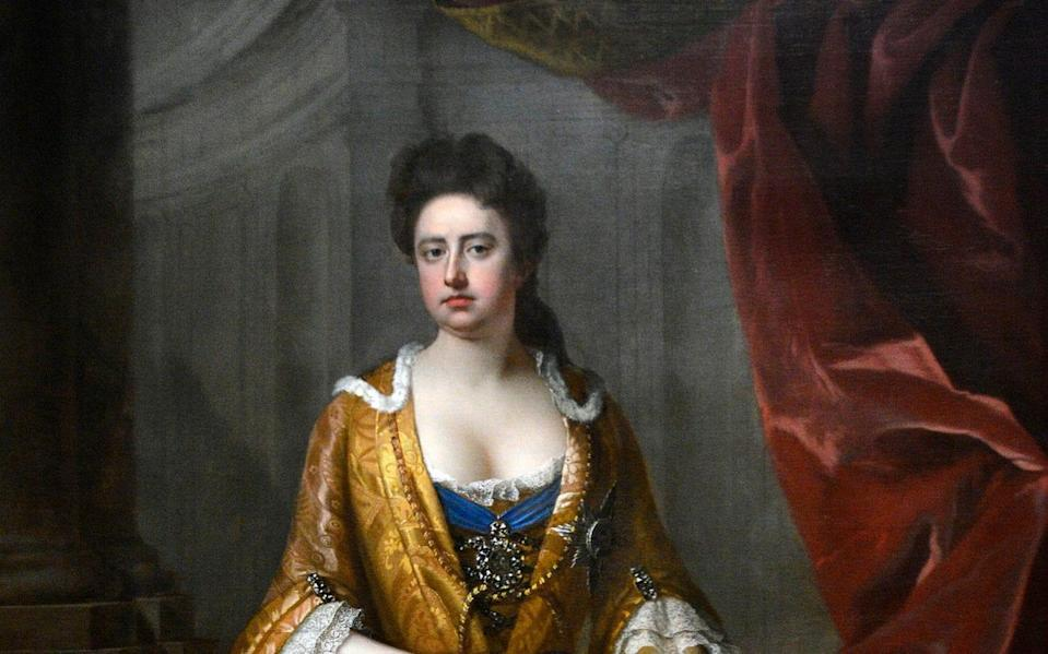 Queen Anne established a fund for the church