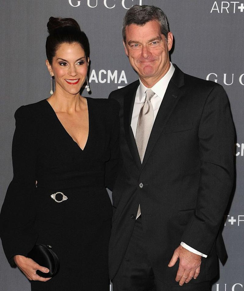 Jami Gertz and husband Tony Ressler
