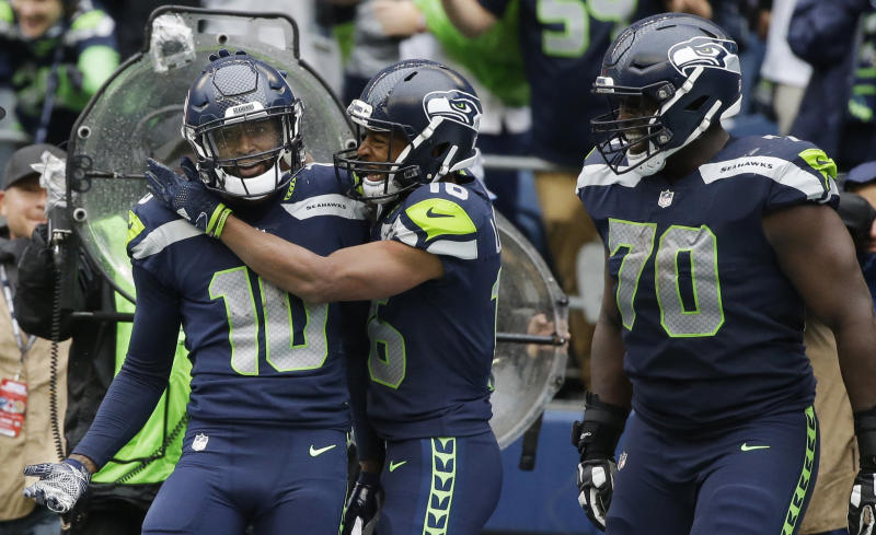 Paul Richardson caught the game-winning touchdown for the Seahawks in Week 2. (AP)